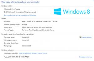 Windows 8.1 Pro Preview