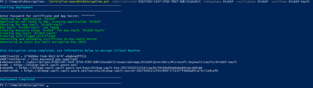 Disk Encryption BitLocker